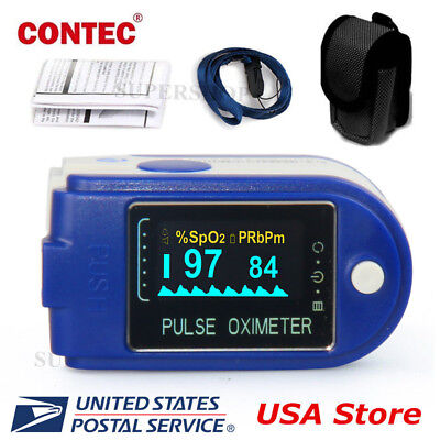 Oled Finger Tip Pulse Oximeter Spo2 Pr Blood Oxygen Heart Rate Monitor Software
