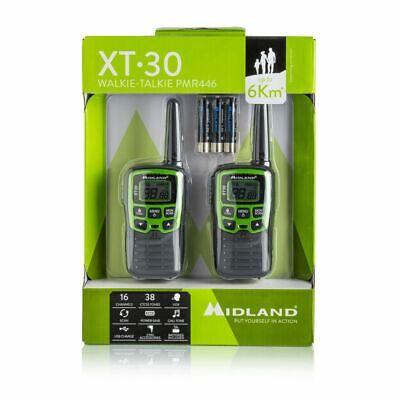 MIDLAND XT-30 Ricetrasmettitore PMR walkie talkie libero uso