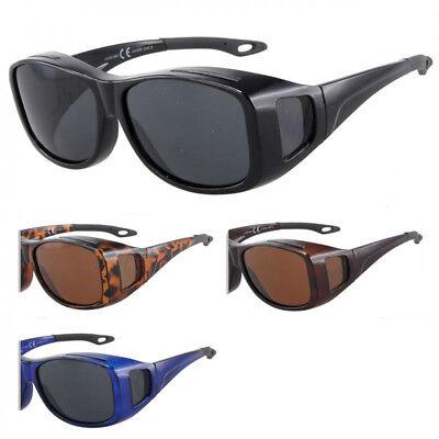 Polarisierte Überzieh Sonnenbrille Überziehbrille Überbrille Fit Over BM5002