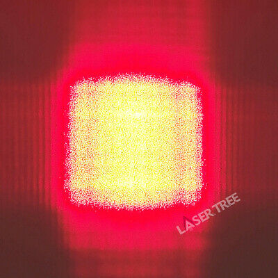 638nm 1w To-5 9mm Red Laser Diode With Fac Fiber Square Spot