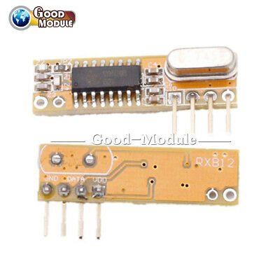 Superheterodyne 433mhz Rxb12 Wireless Receiver Module For Arduinoavr