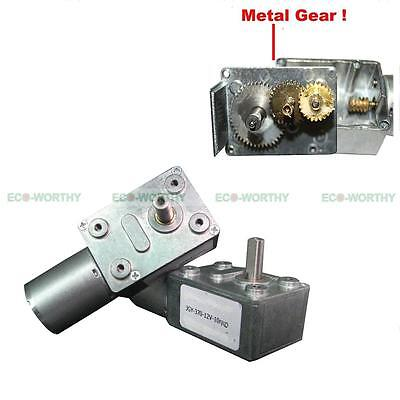 12V 10rpm High Torque Turbo Worm Geared JGY370 Gear Motor for DIY Scroll Curtain (Diy Scroll)