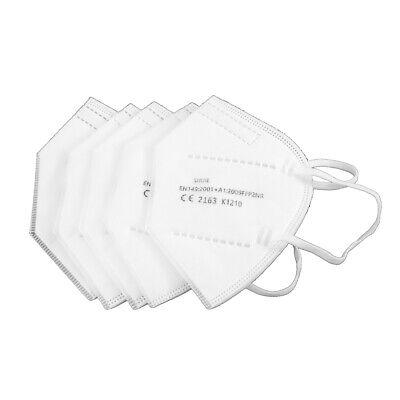 50 Stück CE certified FFP2 KN95 Atemschutz Mundschutzmaske Schutzmaske Gummiband