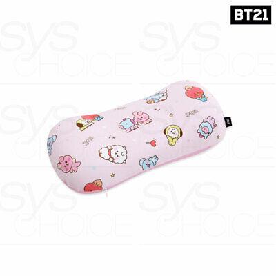 BTS BT21 Official Authentic Goods Sketch Peanut Memory Foam Pillow + Tracking Nu