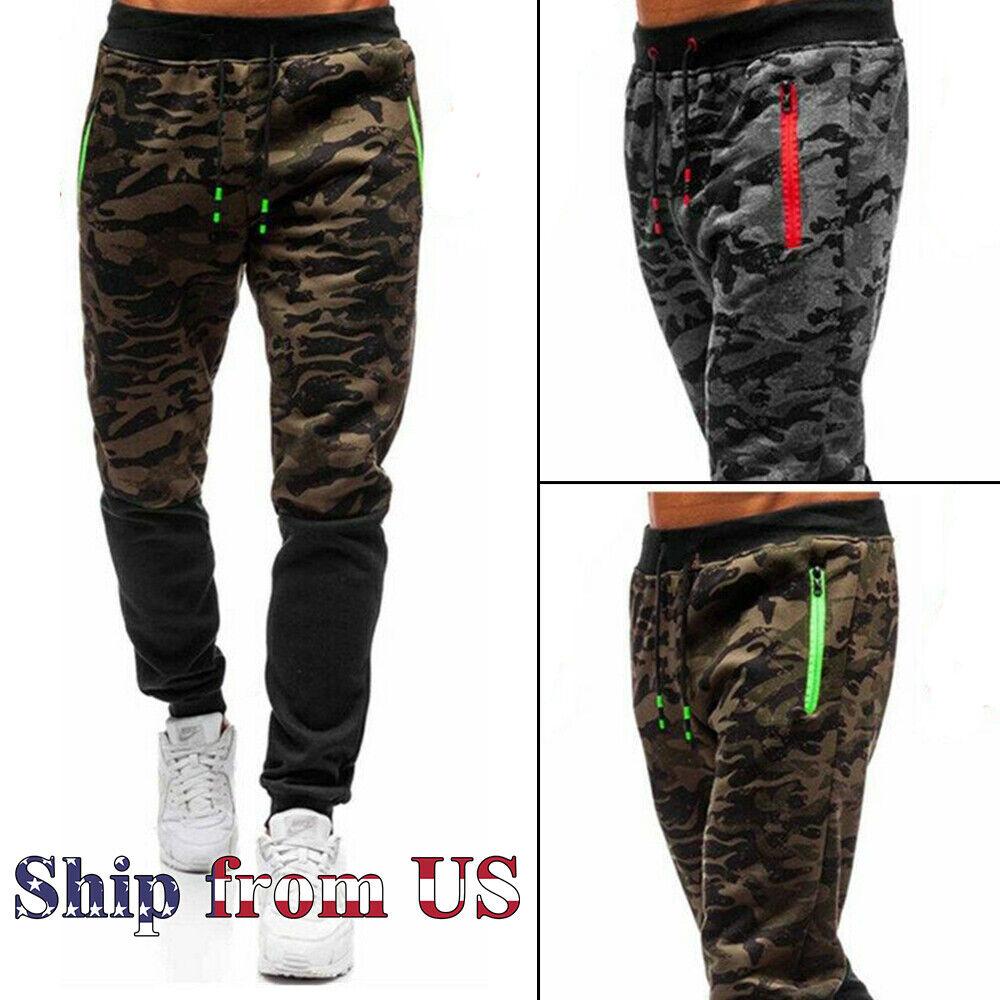 Men's Casual Joggers Pants Sweatpants Cargo Combat Active Sp