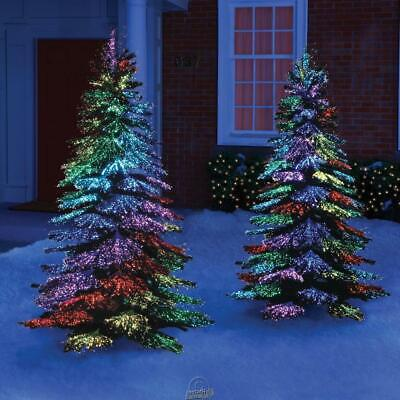 Thousand Points Light Tree Outdoor Christmas Holiday Decoration 7.5' Christmas Tree Outdoor Light