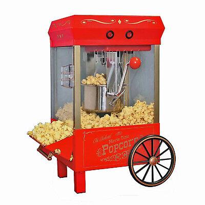 Old Fashioned Hot Oil Kettle Popcorn Maker Vintage Style Popper Machine Kpm-508