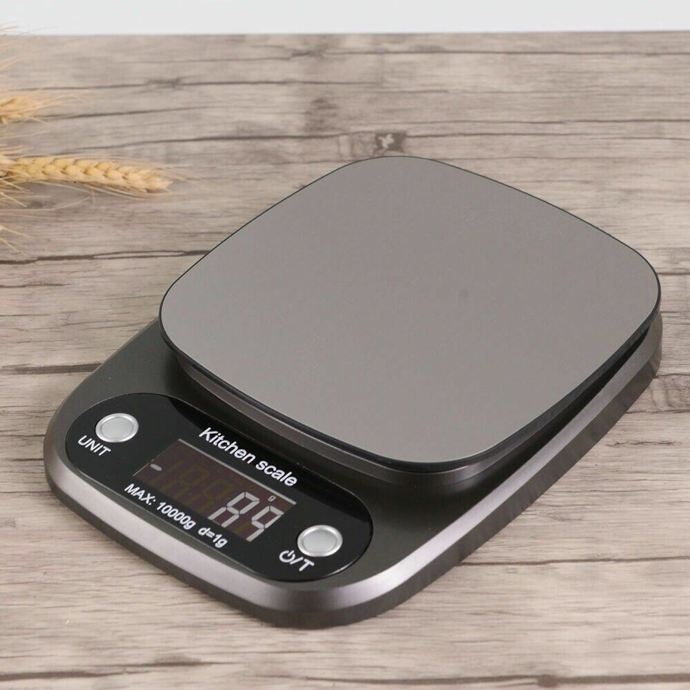 Kitchen Food Scale for Cooking Baking Diets, 22lbs Capacity(10kg x1g) Home & Garden