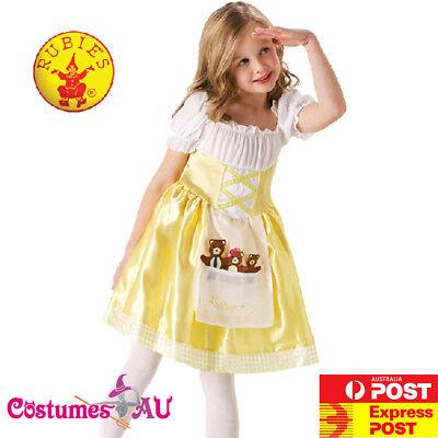 Girls Goldilocks Costume Child Book Week Kids Goldilocks Three Bears Fancy Dress