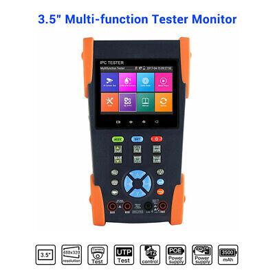 "Tragbar IPC-3500 3.5/"" Touch Screen IP Analog CVBS Kamera Ipc Prüfgerät Display"