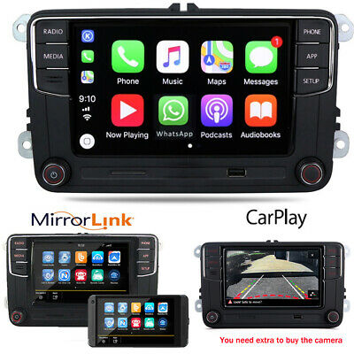 "6.5"" Car Radio RCD330 CarPlay GPS 280 187B BT For Golf 5 6 Passat  Polo T5 Caddy"