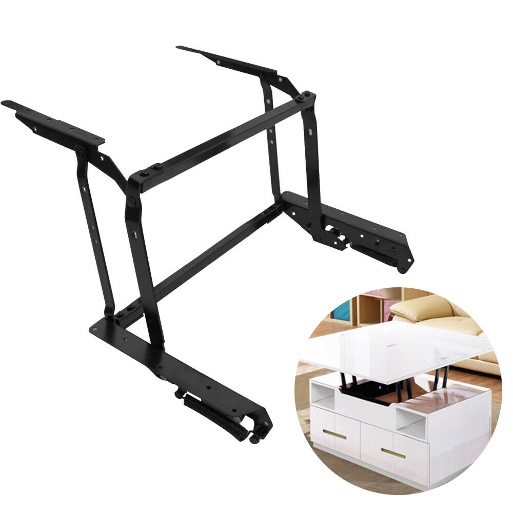 Adjustable Lift Up Top Large Coffee Table Hardware Fitting Furniture Mechanism Hinge Spring With Mounting Screws 29/'/'-44/'/'
