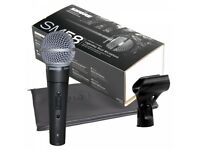 Brand new Shure SM58 microphone on-off switch version