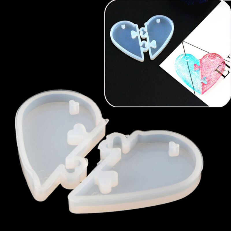 Love locks For Lovers Pendant Silicone Mold Epoxy Resin Moul