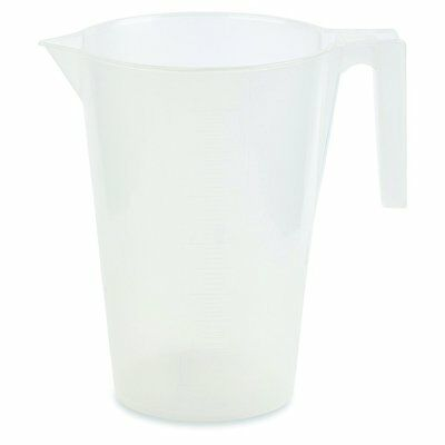 3000ml Graduated Beaker With Handle Polypropylene Karter Scientific 228v4