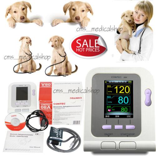 2020 DIGITAL VETERINARY Blood Pressure Monitor NIBP CUFF,Dog/Cat/Pets,US seller