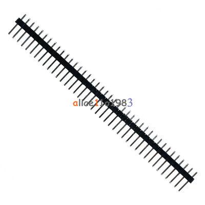 10pcs 40pin 2.54mm Single Row Straight Male Pin Header Strip Pbc Ardunio