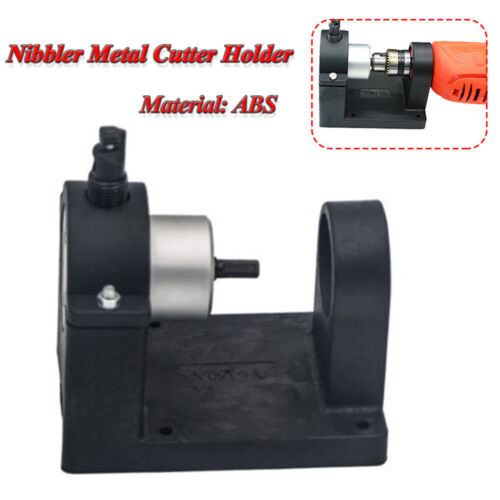 Double Head Sheet Metal Nibbler Saw Cutter Drill Attachment