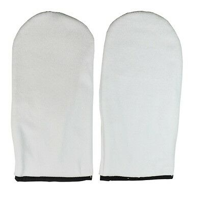 DL-C129 Terry Cloth Mitts Spa Paraffin Wax Therapy for Feet Spa Pedicure