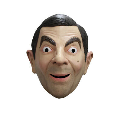 Adult Mr. Bean Costume Funny Mask](Mr Bean Halloween Mask)