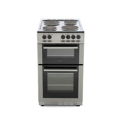 Belling FS50EFDO Silver Electric Cooker with Double Oven 444443926