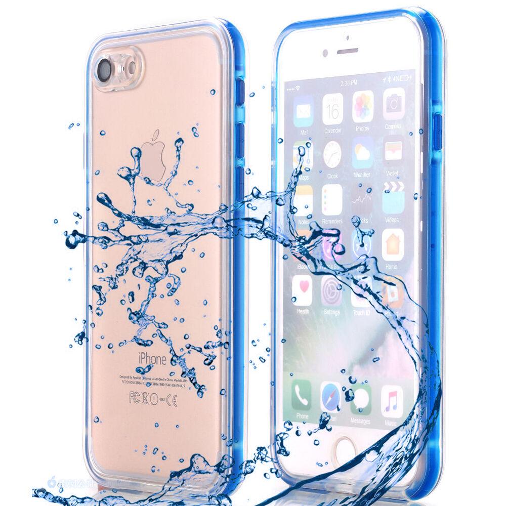 Waterproof Shockproof Hybrid TPU Phone Case Full Cover Fr iPhone X 7 6s 6 8 Plus