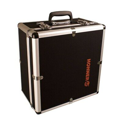 Hohner Accordion 12X Hard Shell Carrying Case (Fits Corona, Panther, Three Row)