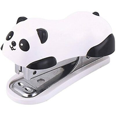 Decora Cute Panda Mini Desktop Stapler Handy Christmas Party Favors Home Office