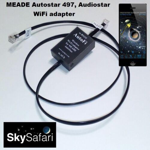 AutoFi - MEADE Autostar 497, Audiostar WiFi adapter