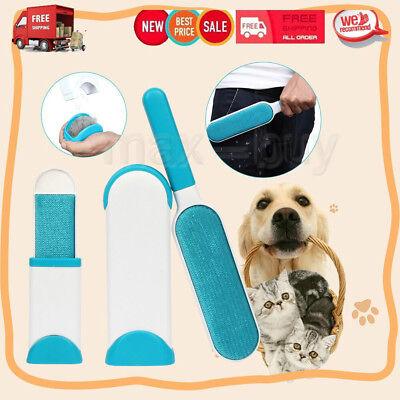 Pet Hair Remover Magic Fur Dog Lint Brush Removal Cloth Fluff Fabric Reusable US