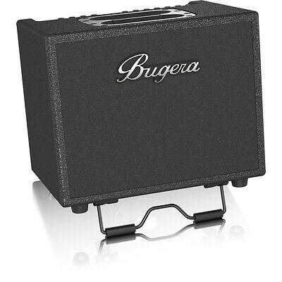 - Bugera AC60 Portable 60W 2-Ch Acoustic Guitar Amplifier w/ Reverb Delay Chorus