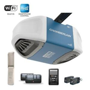 Chamberlain 3/4HP Belt Garage Door Opener with WIFI SMARTPHONE