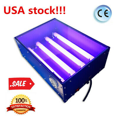 Usa 60w 18 X 12 Silk Screen Pad Printing Uv Exposure Unit Curing Machine