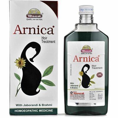 Arnica Tratamiento Capilar Aceite Wheezal Homeopático para Cabello Fall - 110ml