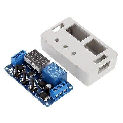 1 PC 12VDC LED AUTOMATION DELAY TIMER CONTROL RELAY SWITCH MODULE WITH CASE USA
