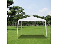 3 x 3m 120g Waterproof Outdoor PE Garden Gazebo Marquee Canopy Party Tent