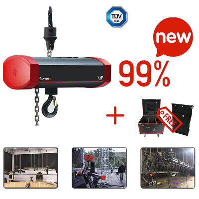 Electric Chain Hoist Motor 1ton 220v 3phase 13fpm 82ft. With Chain Bag Mode