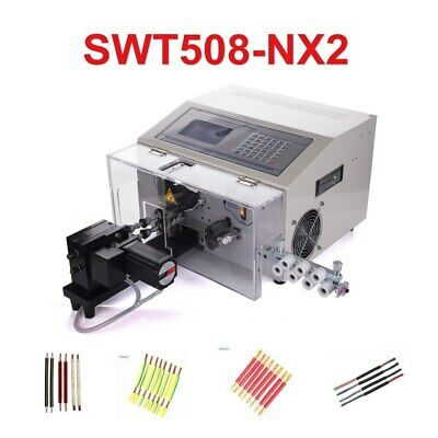 Swt508-nx2 Computer Automatic Wire Strip Peeling Stripping Cutting Machine