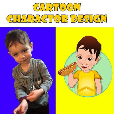 PROFESSIONAL Cartoon Charactor Logo Design