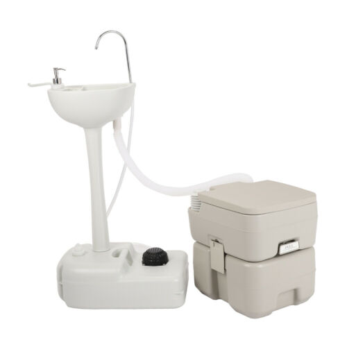 portable camping toilet flush 20l and durable