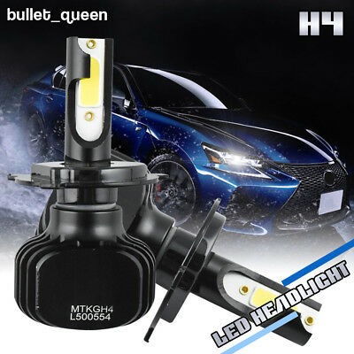 H4 9003 LED Headlight Kit Bulbs for Honda Civic/Odyssey 1995-2003 High Low Beam 1995 Xenon Headlight Bulbs