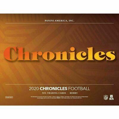 CINCINNATI BENGALS 2020 PANINI CHRONICLES FOOTBALL 1/3 CASE 4 BOX TEAM BREAK 2 - $315.00