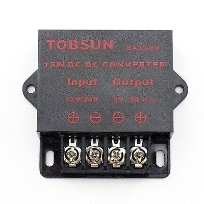 Supernight 15w 12v24v Dc To Dc 5v 3a Step Down Regulator Module Converter