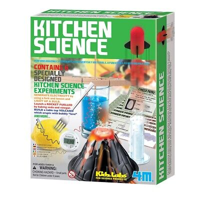 Toysmith Green Science Kitchen Science Set, Fun for Kids and Adults, 3806 - Kitchen Science