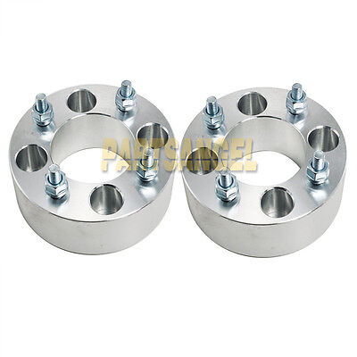 "(2) 5"" (2.5"" per side) Wheel Spacers 4x4 to 4x4 4/4 for EZ GO Club Car Golf Cart"