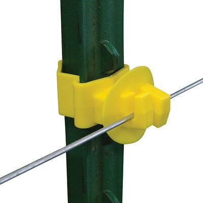 Patriot - T-post Claw Insulator - Yellow
