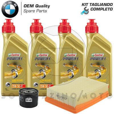 KIT TAGLIANDO COMPLETO CASTROL + FILTRO OLIO / ARIA BMW R 1200 GS LC 2013-2018