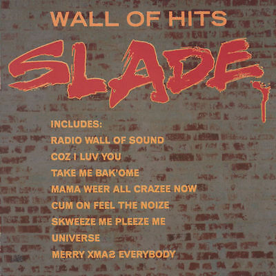 Slade WALL OF HITS Best Of 20 Essential Songs COLLECTION Polydor NEW SEALED