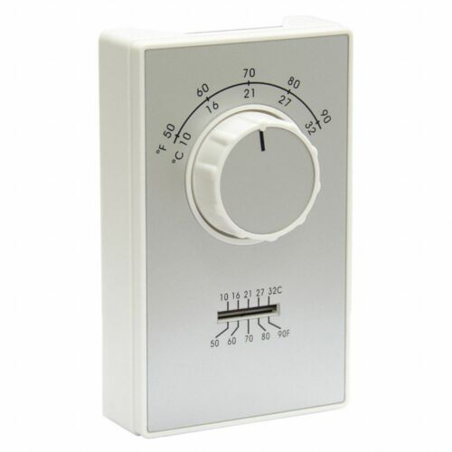 Columbus Electric ETD9STGS Line Volt Mechanical Thermostat, Open/Close On Rise