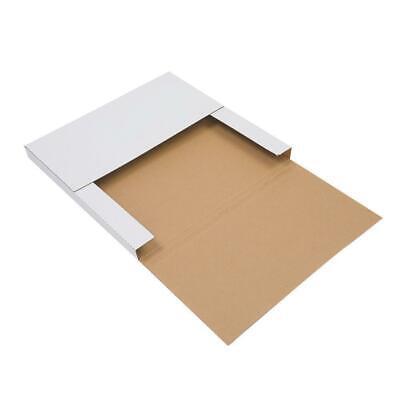 100 Lp 12.5x12.5 Premium Record Mailers Book Box 0.51 Depth Shipping Mailer